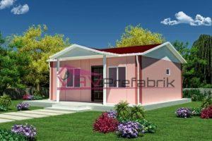 45 m2 prefabrik ev