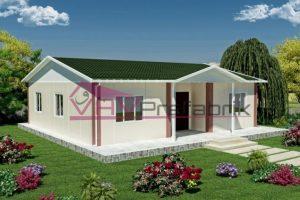 95 m2 prefabrik ev